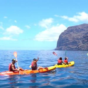 Kayak in Los Gigantes